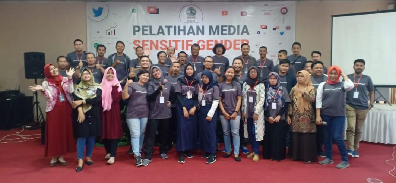 Pelatihan Media Sensitif Gender bagi Penggiat Media